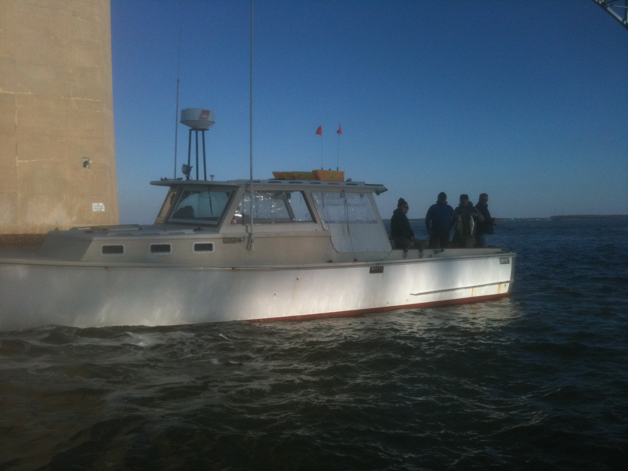 Maryland chesapeake bay bridge fishing charters for Annapolis fishing charters